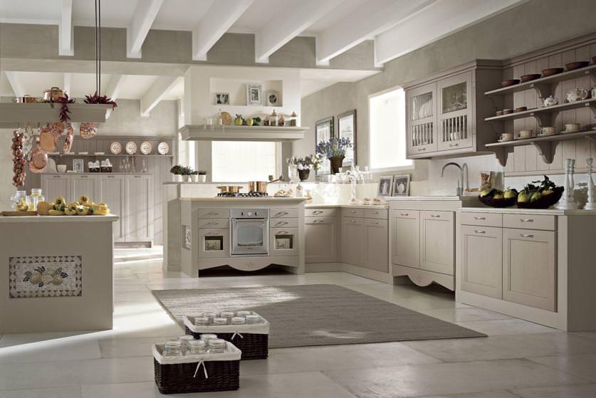 Cucine in muratura moderne struttura dettagli colori e for Cucine stile contemporaneo