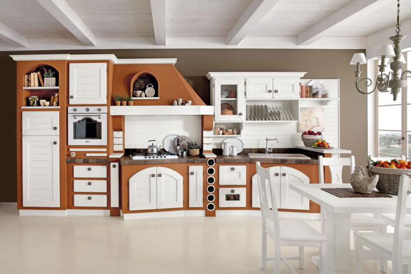 Cucine in muratura: rustiche e moderne   facehome.it