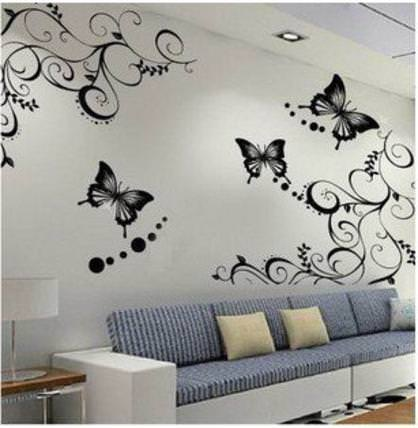 Decorazioni da parete per salone facehome for Decorazioni muro