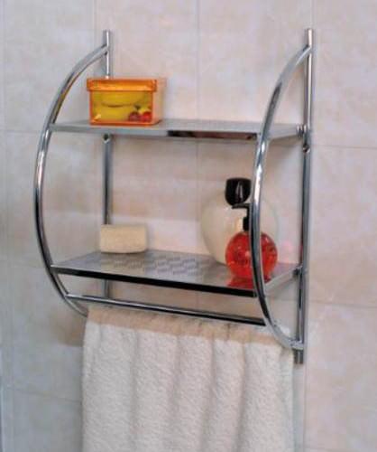 Mensole da bagno idee e consigli facehome - Mensole bagno senza forare ...