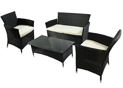 Set di tavoli e sedie da giardino godersi gli esterni facehome